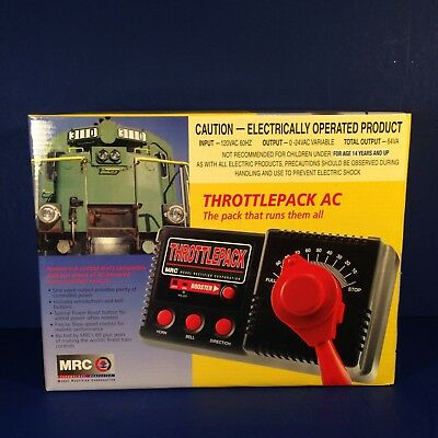 MRC THROTTLEPACK AC The pack that runs them all #0001301 Brand New in Box