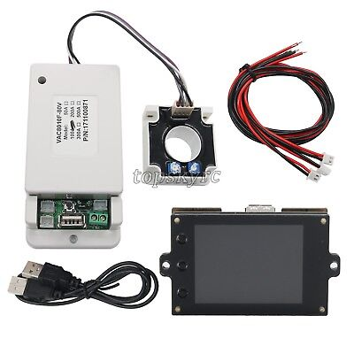 Battery Monitor Meter Wireless DC 120V 100A VOLT AMP AH Remaining Capacity LCD&&
