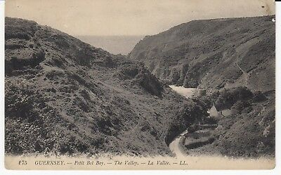 Guernsey Petit Bot Bay The Valley La Valle by LL Levy No 175 Unused
