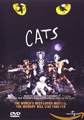 CATS - The Musical - Ultimate Edition Andrew Lloyd Webber DVD NEW / Sealed