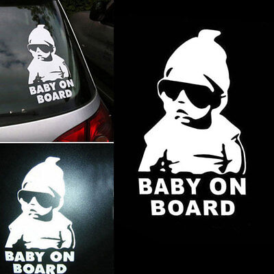 Aufkleber Wunschname on Board Kind an Bord Baby Name Hangover Sticker Auto DBU