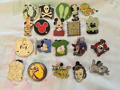 Disney Trading Pins Lot Of 20 No Duplicates!