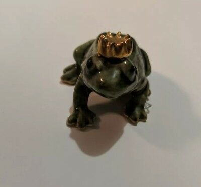 Hagen Renaker Frog Prince Figurine Miniature Collect New