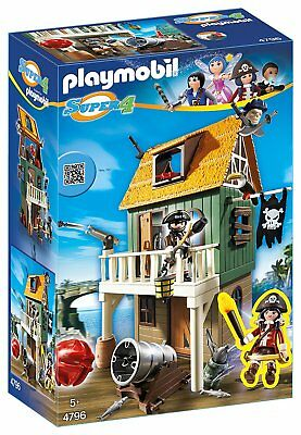 Playmobil 4796 Getarnte Piratenfestung Piraten Ruby Die super 4 Schatz Figuren
