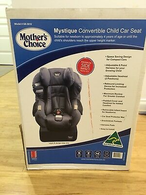 Mothers Choice - Convertible Seat - Black