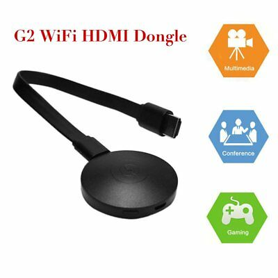 G2 WiFi 1080P Full HD HDMI TV Stick Wireless Chromecast Airplay Dongle LOt PO