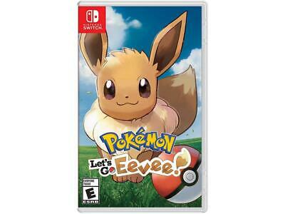 Pokemon Let's Go, Eevee! - Nintendo Switch