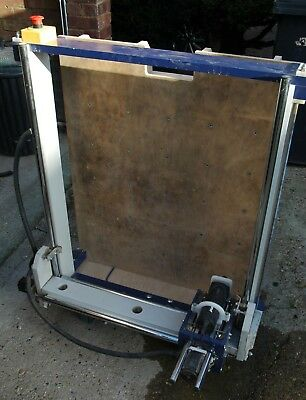 CNC router, homemade, fully working but in need of some TLC