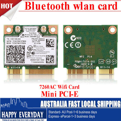 2.4G/5G Bluetooth 867 Mbps Dual Band PCI Express Network Card Wlan WiFi Adapter