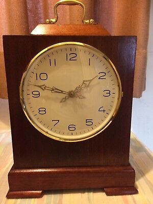 MANTEL CLOCK by LENZKIRCH IN WORKING ORDER SUPERB