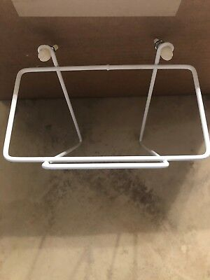 Wall Mount Large Ice Scoop Holder for16-64 oz. scoops - Easy Install