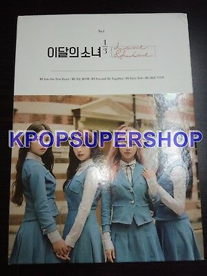 Loona 1st Mini Album Love & Live Autographed Signed Fan Event CD Great Cond