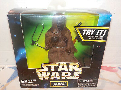 """Star Wars 12"""" Scale JAWA Action Collection 1991997 Eyes Light-Up"""
