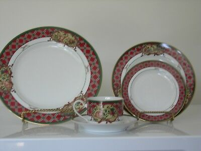 NEW Noritake ROYAL HUNT 4 - 5 Piece Place Settngs - 20 PIECE SET