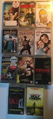 Joblot of 11x Sony PlayStation Portable PSP UMD VIDEO Bundle Some Top Movies