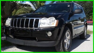 2007 Jeep Grand Cherokee LIMITED 2007 LIMITED Used 4.7L V8 16V Automatic RWD SUV