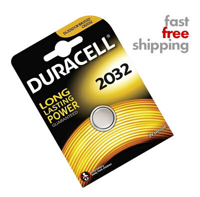 New Duracell CR2032 3V Lithium Coin Cell Battery 2032 Button DL2032 PLEASE READ*