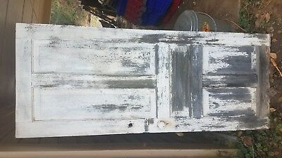 Vintage Antique 1800's Solid Wood Old Door Architectural Salvage Reclaimed