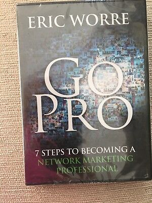 Go Pro 7 Steps to Becoming a Network Marketing Professional Audio CD Eric Worre