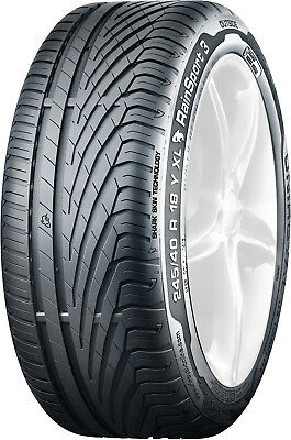 Lot de 2 pneus 205/55 R 16 91 V UNIROYAL RAINSPORT 3