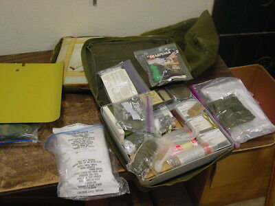 1980's US Survival Kit Cold Climate Dated 5/87