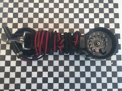 Vintage Western Electric Lineman's Butt Set Test Phone PIN DIAL ROTARY