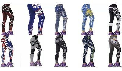 Women's Workout Leggings Football Team Print Great Gift For Woman
