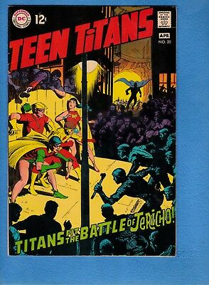 Teen Titans #20, 1969, VF 8.0, Neal Adams art