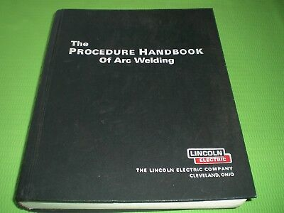 The Procedure Handbook of Arc Welding by Lincoln Electric 12th Ed 1973 Hardcover