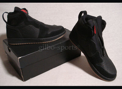 best service d5e63 53d73 Nike Air Jordan 1 High Zip Black Univerity Red Gr 40 40,5 schwarz AR4833