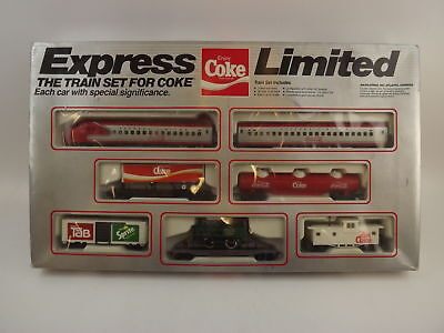 Vintage Express Limited The Electric Train Set For Coke In Original Box