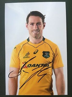 Bernard Foley - Australia Rugby Player Signed 6x4 Photo