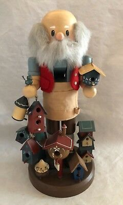 Vintage Zim's Limited Edition 1997 Nutcracker Santa Birdhouse Maker