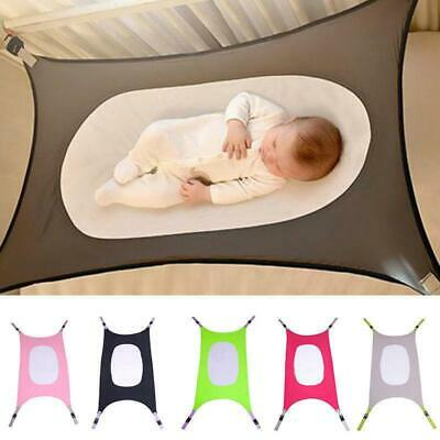 Infant Bed Elastic Detachable Baby Hammock Baby Cot Crib Safty Gift -LIN