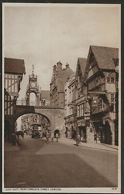 East Gate from Foregate Street, Chester, England 1899 Collotype by Valentine's