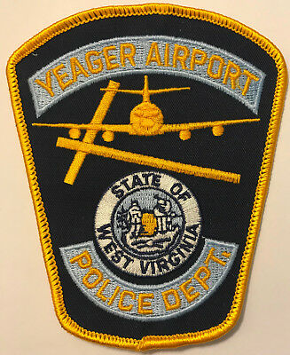 Yeager West Virginia Airport Police Patch