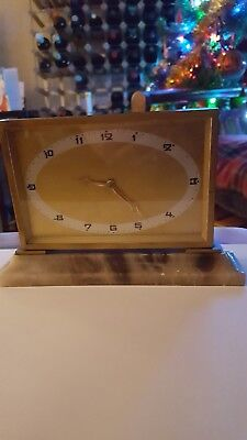 Art Decoe mantle clock with annix stand still a perfct time keeper