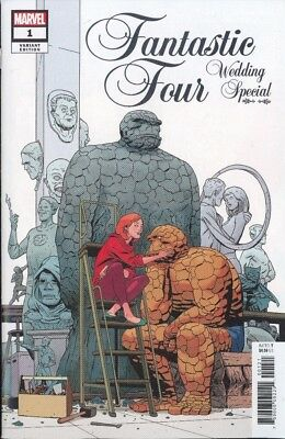 Fantastic Four Wedding Special #1 Martin Variant Cover Nm-