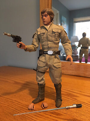 Bespin Luke Skywalker 1:6 Scale Figure STAR WARS Sideshow Collectibles Loose