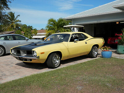1972 Plymouth Barracuda  1972 Plymouth Barracuda/ Cuda
