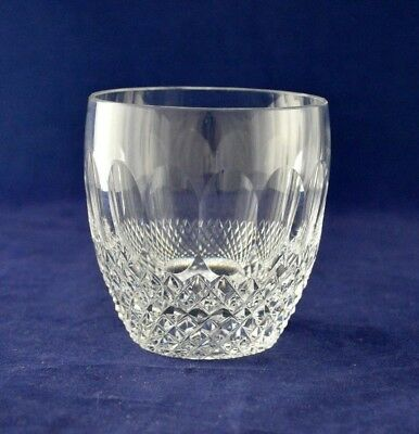 "Waterford Crystal ""COLLEEN"" Whiskey Glass / Tumbler - 8.5cms (3-3/8"") Tall"