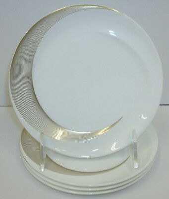 """Set of 4 Wedgwood England Tranquility China 6"""" Bread & Butter Plates"""