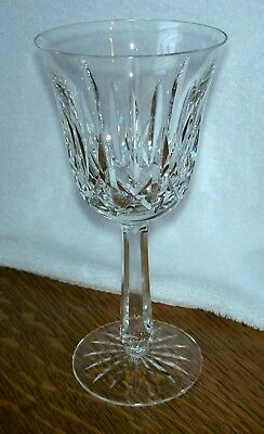 """Waterford Crystal BALLYSHANNON 7 5/8"""" Water Goblet Wine Glass Old Mark Ireland"""