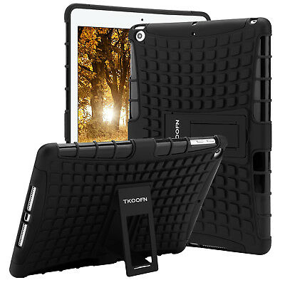 For Apple iPad 6th Generation 2018 Tough Rubber Heavy Shockproof Hard Case Cover