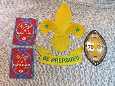 Vintage Assorted Lot Of Scouting Badges
