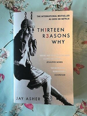 Thirteen Reasons Why Book By Jay Asher Netflix Tv Show Paperback