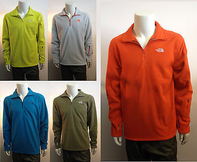 The NORTH FACE 1/4 Zip Polar Fleece Performance Poly Ski Snowboard Cold Weather
