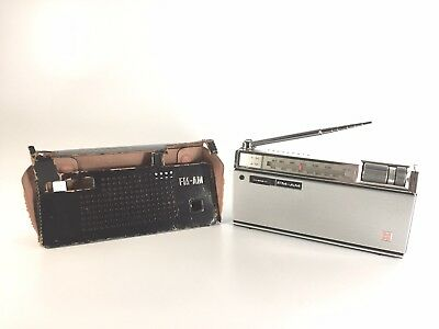Vintage, Panasonic Model RF-800 AM-FM Transistor Radio, Tested, #948