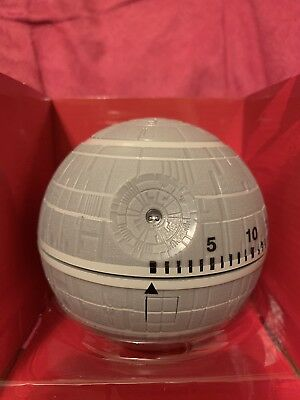 Star Wars DEATH STAR Kitchen Timer- NEW Lights And Sounds! So Fun- Collectible