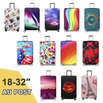"Elastic Thick Luggage Suitcase Cover Protective Bag Dustproof Protector 18""-32"""